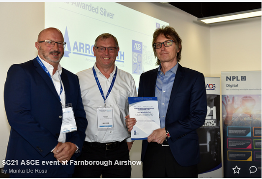 ADS SC21 Silver Awarded at Farnborough 2018